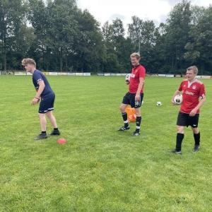 1e training seizoen 2021/2022